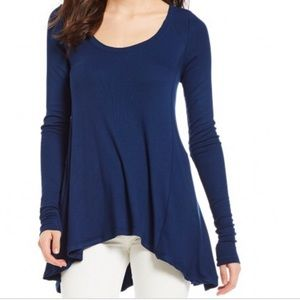 Free People January High/low Tunic Top